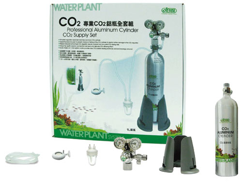 Professional Aluminum Cylinder CO2 Supply-Set-1L